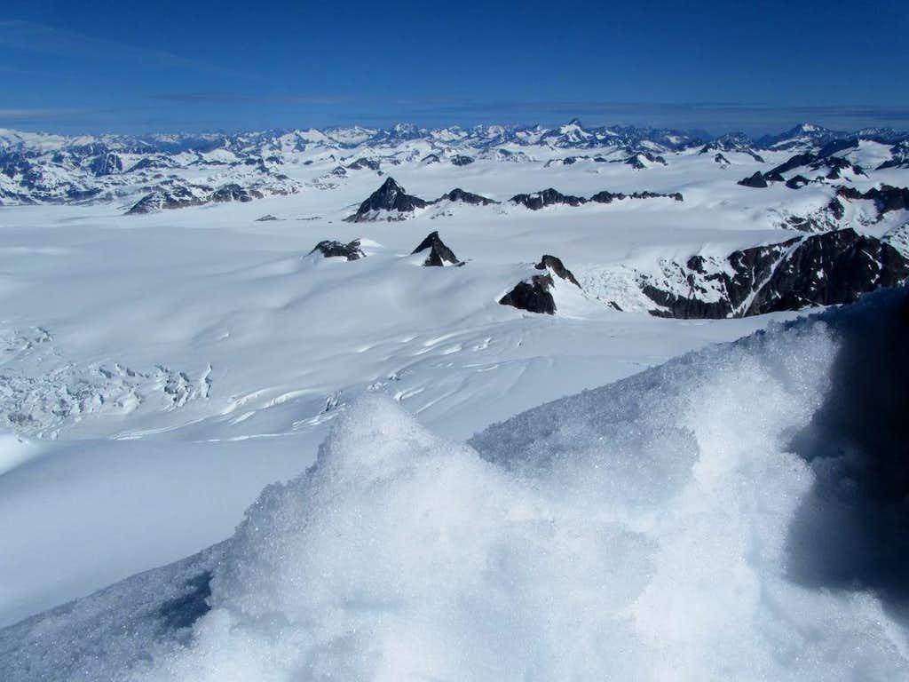 The Homathko Icefield