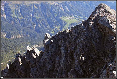 Sauris from Monte Bivera