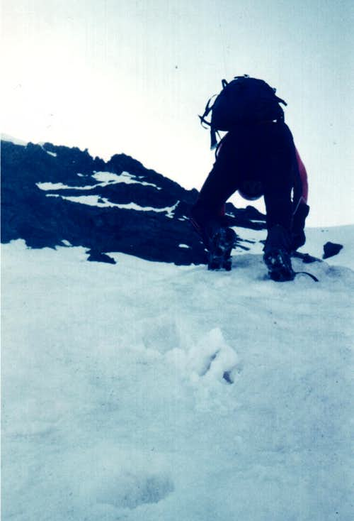 Direct to MONT ROSS de COMBOE and Integral West Ridge to EMILIUS 1977
