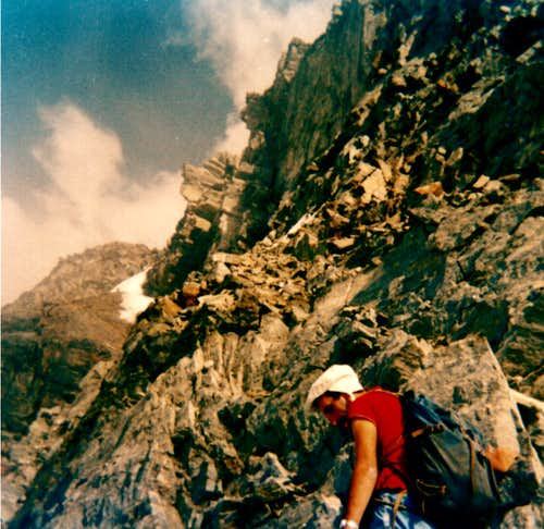 EMILIUS\'s SOUTHWEST Buttress, First Ascent Absolute and Integral 1974