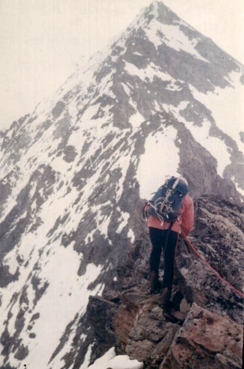 On EMILIUS's Old and Original WEST Ridge at present & since 2000