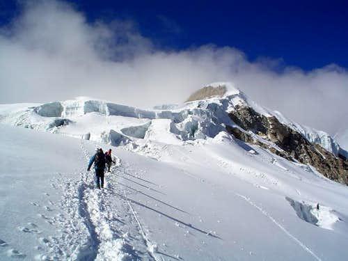 Ishinca 5.530 m. July, 2004