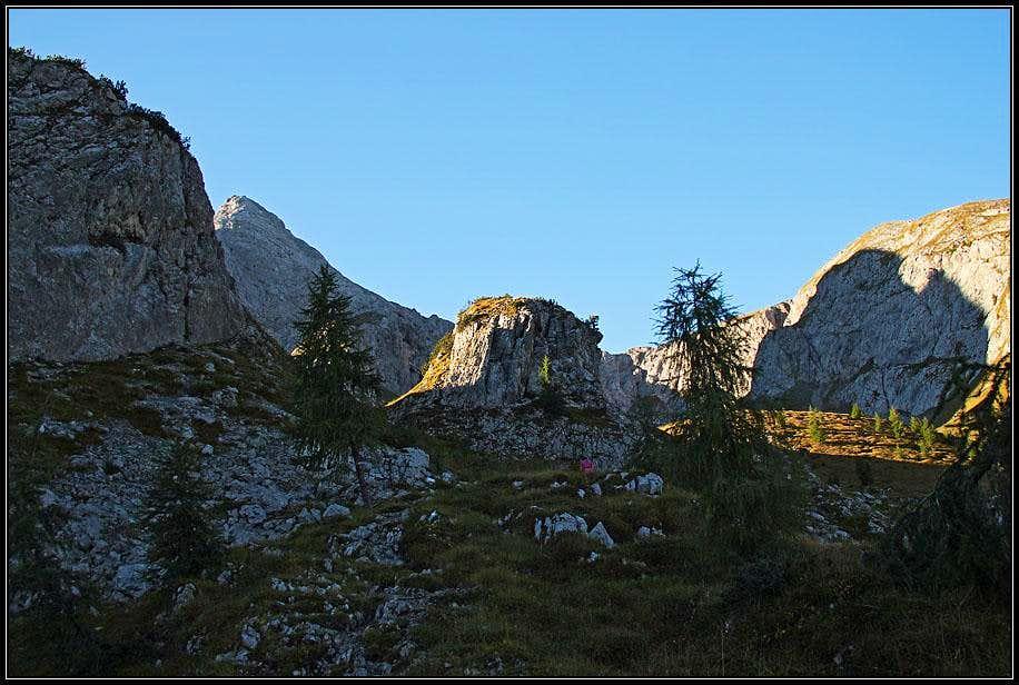 Bivera north ascent