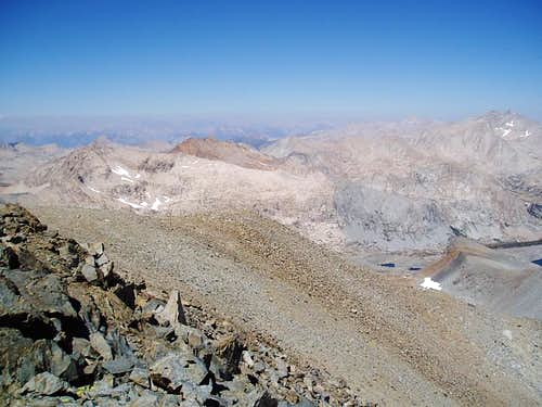 Summit view from Lawson Peak to the north