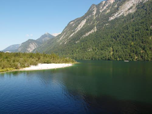 The beach @ Königssee