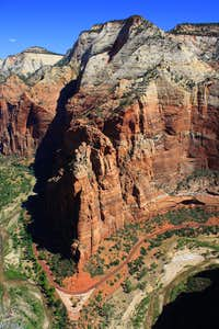 Observation Point from Angels Landing..Can you see the head?