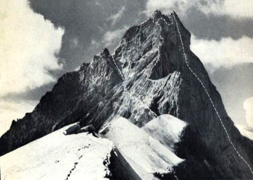 The Gable Notch on the Zinalrothorn
