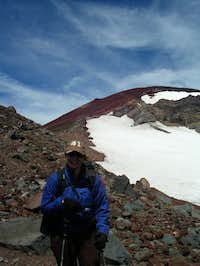 Aukjen on South Sister...