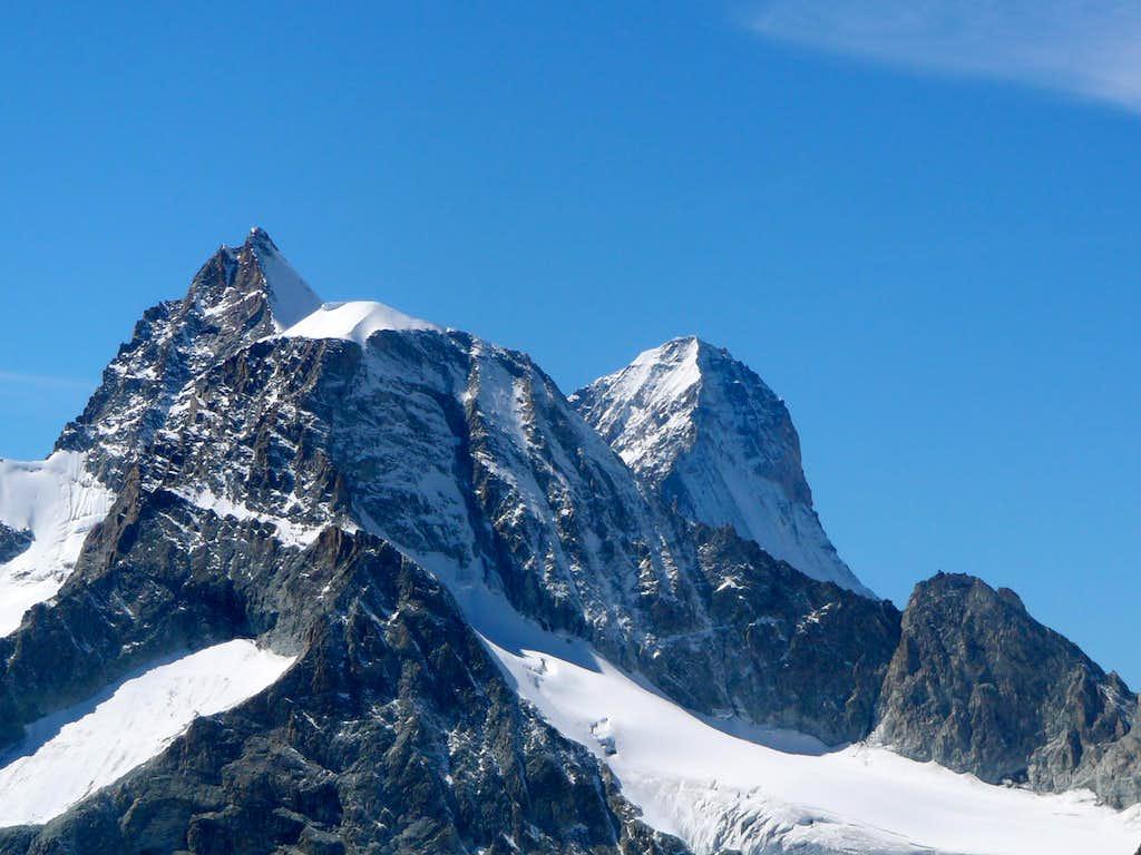 Ober Gabelhorn, Wellenkuppe and Dent Blanche