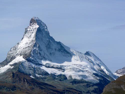 Matterhorn and Dent d'Hérens