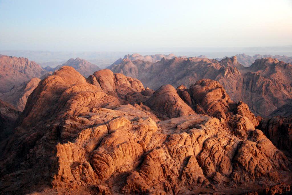 A Peak Of The Moses Mount Photos Diagrams Amp Topos