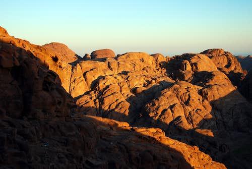 Landscape on Moses Mount