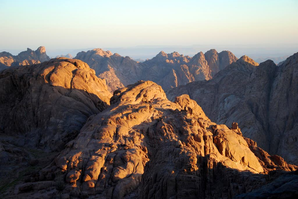Early morning on Moses Mount