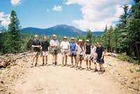 Troop 189 NCAC with Mt. Baldy...