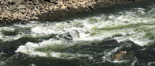 Rapids Before Fish Ladder