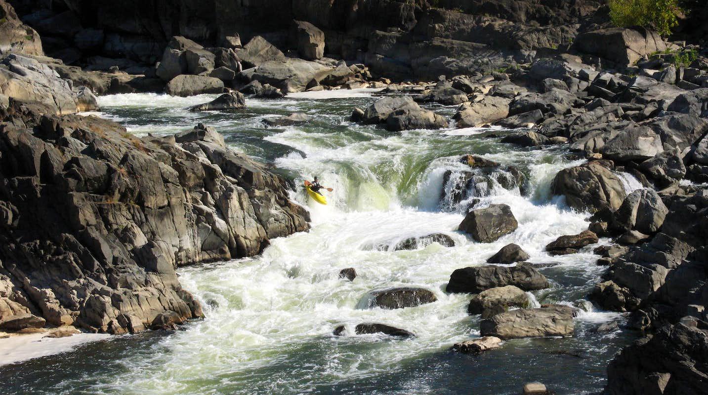 kayaker on class 5 rapids photos diagrams amp topos