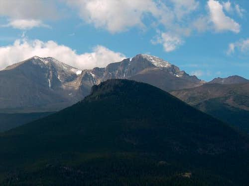 Mt. Meeker and Longs Peak...