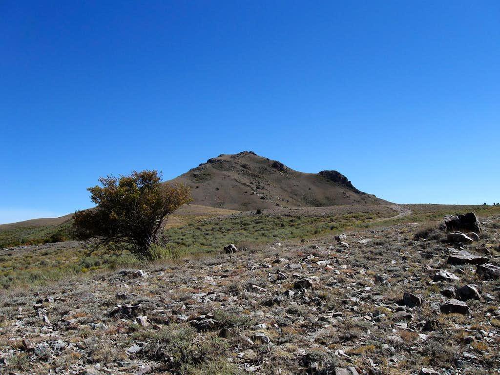North ridge of Maple Peak