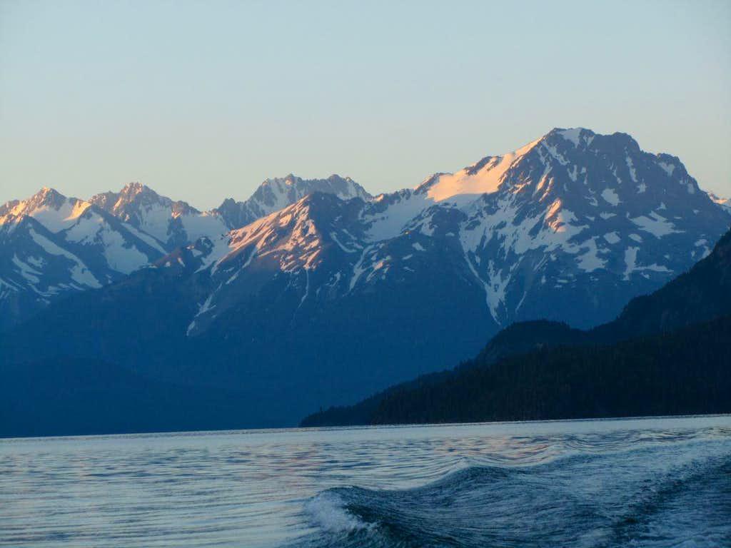 Crossing Chilko Lake