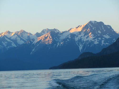 Crossing Chilko Lake