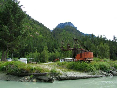 Remote Logging Camp at the end of Butte Inlet