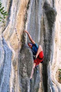 Krug - First ascent of 'Elephant'