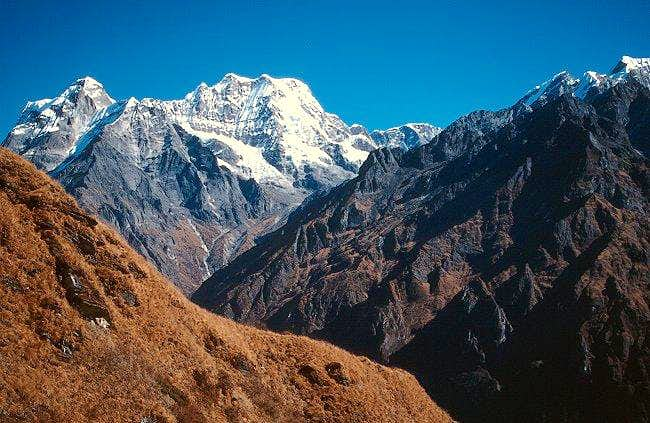 Mera Peak from the south....