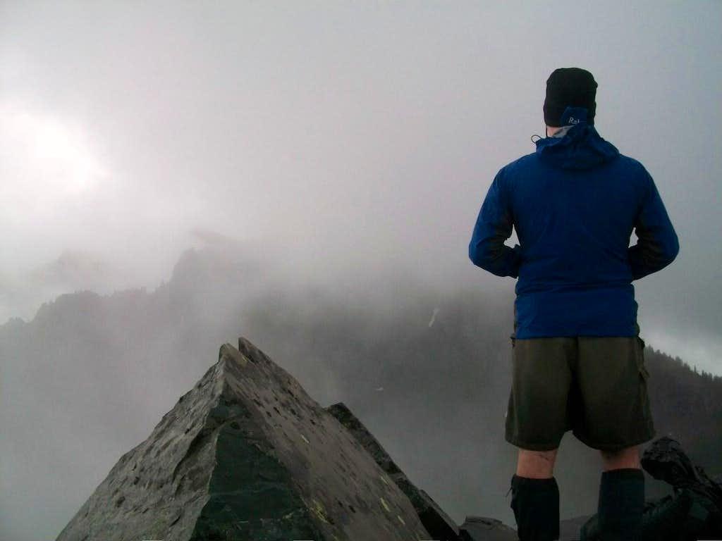 Magellan taking in the view