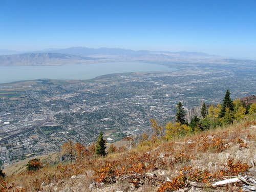 Provo from Buckley Mountain