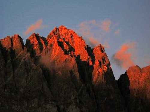 Mt. Winchell Alpenglow