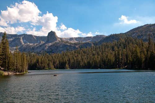 Lake Mamie and Crystal Crag