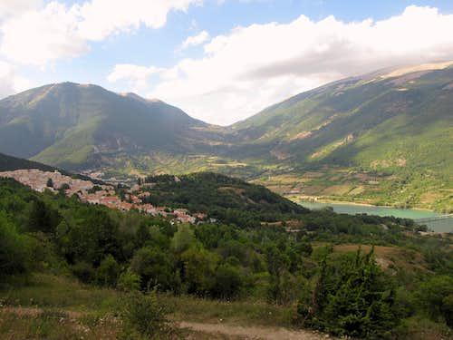 Civitella Alfedena Village near Monte Petroso