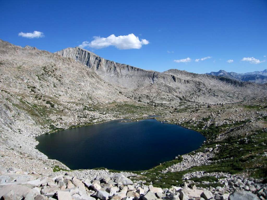 Pyramid Peak and Lake 3340