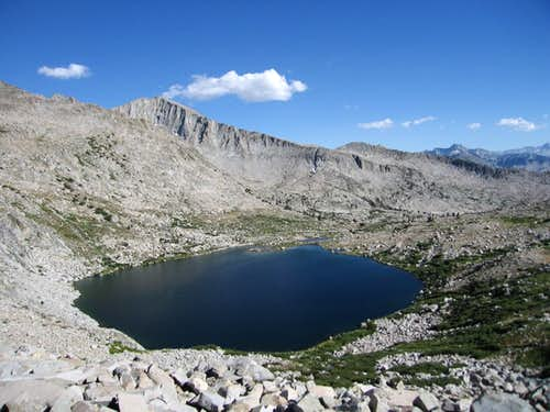 Pyramid Peak and Lake 3340