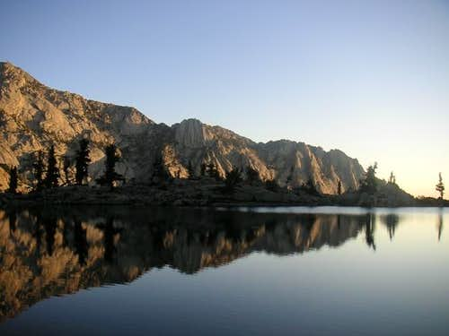 Lone Pine Lake at 6:30am on...