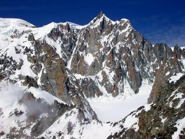 il Mont Maudit (4465 m.)