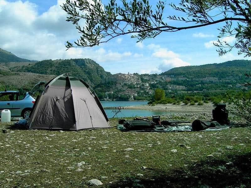 Monte Petroso Camping near Barrea
