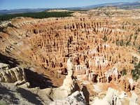 White Tower above the Hoodoos