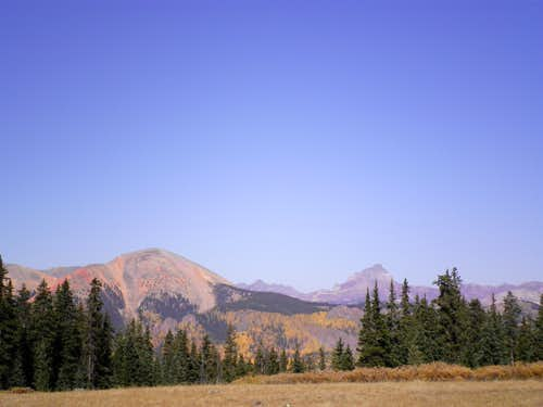 Red Mountain and Uncompahgre
