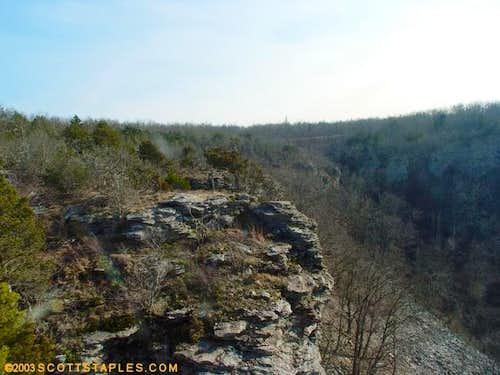 Rocks in Mount Magazine State...