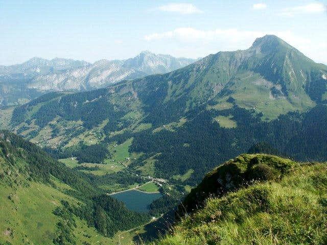 Belair route to Mont de...