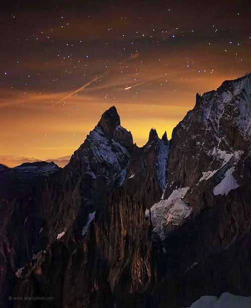 Mont Blanc - 4 a.m.