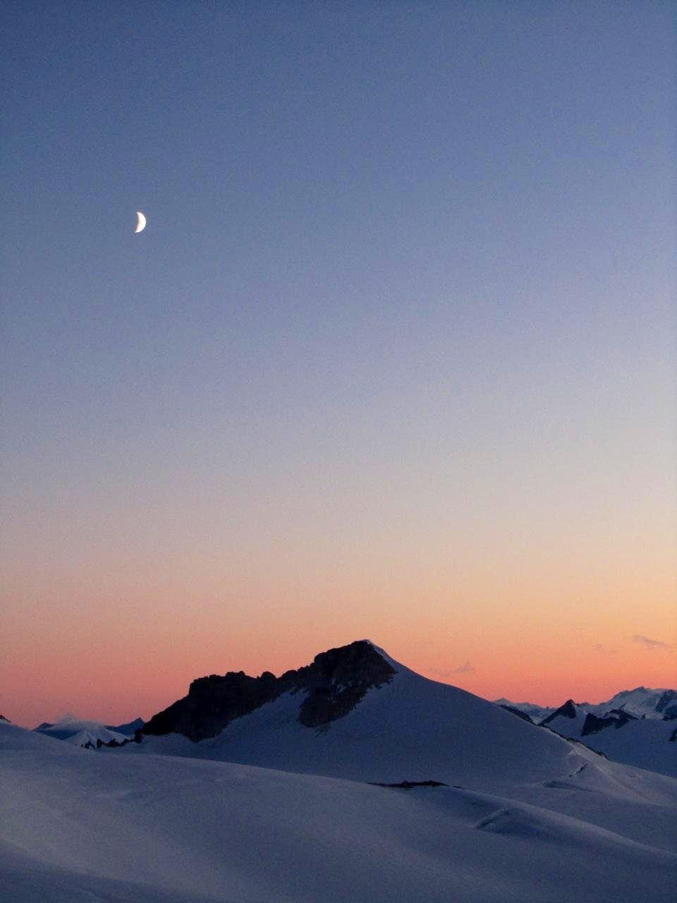 Sunset on the Homathko