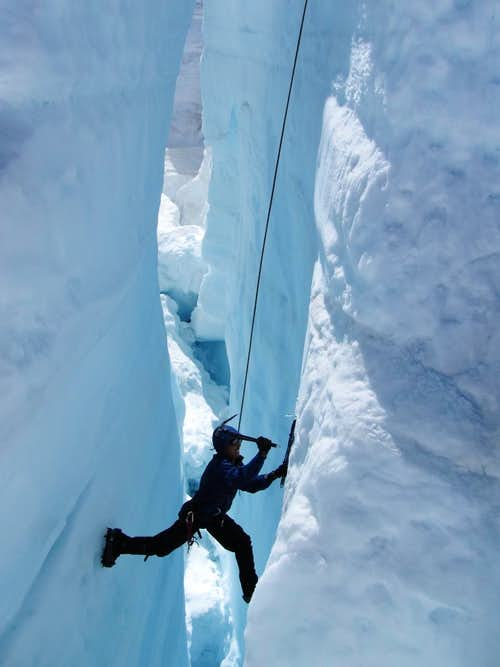 Ice Climbing on the Homathko II