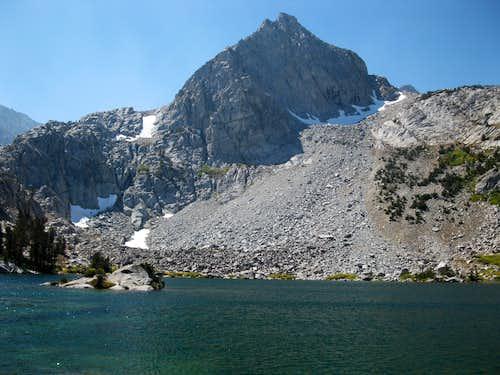 Peak 12047 and Treasure Lake