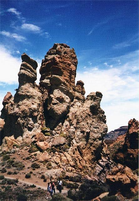 Roques de Garcia, May 2002