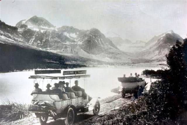 It Seems Like Yesterday In Glacier National Park (Historical Photos of Glacier\'s early days)