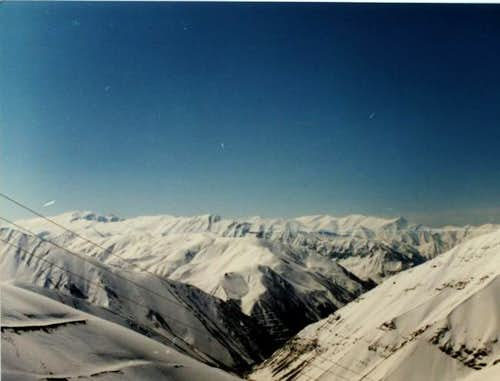 a view of northern face of...
