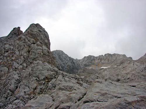 Ridge NE of T.Blanca