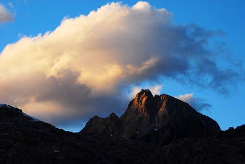 Cloud Over Mt. Humphreys